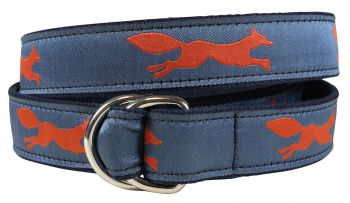 Red Fox D Ring Belt by Belted Cow