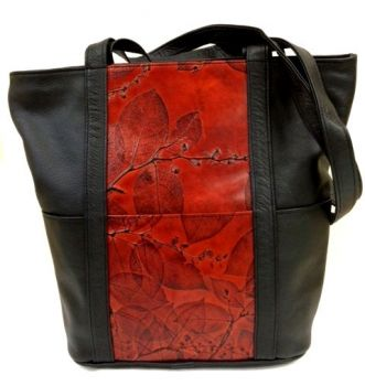 Leaf Leather Reno Tote