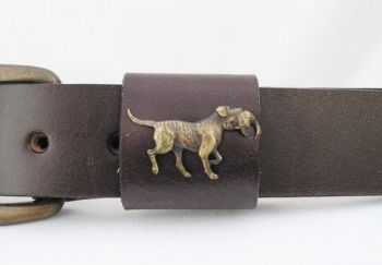 Retriever with Duck Belt by Royden Leather Belts