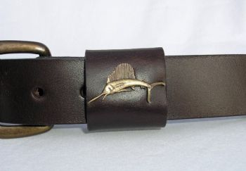 Sailfish Belt by Royden Leather Belts