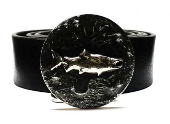 Solo Coho Salmon Buckle by Tyger Forge