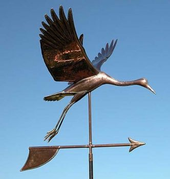 Sand Hill Copper Weathervane by Barry Norling