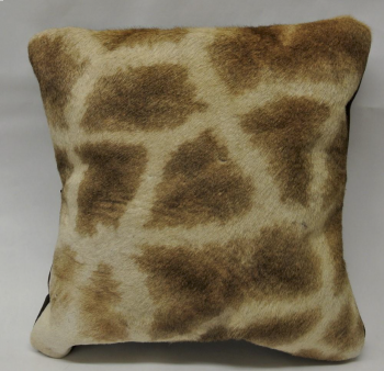 Giraffe Hide Pillow - Front