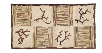 Camp Timbercreek Traditional Hooked Cotton Rug - Michaelian Home