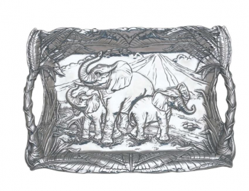 Elephant Clutch Tray by Arthur Court
