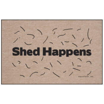 Shed Happens Doormat from High Cotton