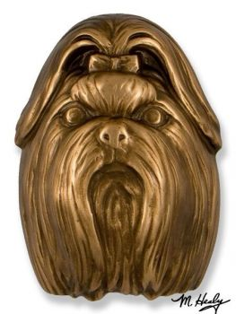 Shih Tzu Door Knocker by Michael Healy