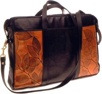 Soft Briefcase by Leaf Leather