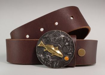 Tailer Made Redfish Buckle by Tyger Forger