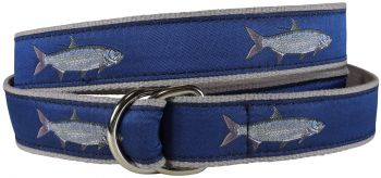 Tarpon Ble D=Ring Belt by Belted Cow