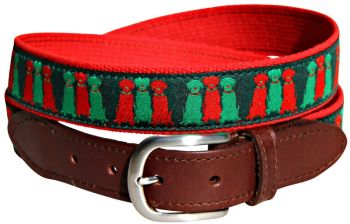 Three Wise Labs Leather Tab Belt by Belted Cow