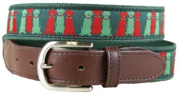 Three Wise Labs Version 2 Leather Tab Belt by Belted Cow