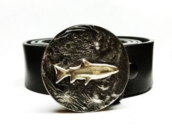 Trout Buckle and Belt by Tyger Forge