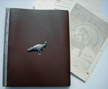 Turkey Hunter Journal - Strutting Gobbler - by Royden Leather