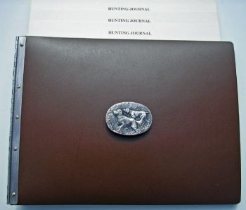 Upland Hunter Journal by Royden Leather