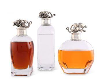 Vagabond House Octopus Liquor Decanters