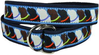 Who Wants Treats D-Riing Belt by Belted Cow