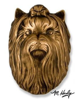 Yorkshire Terrier Door Knocker by Michael Healy