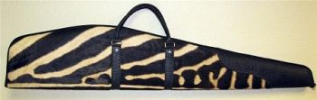 Zebra Hide Rifle Case