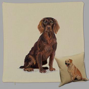 Boykin Spaniel Thow Pillow by Zeppa Studios