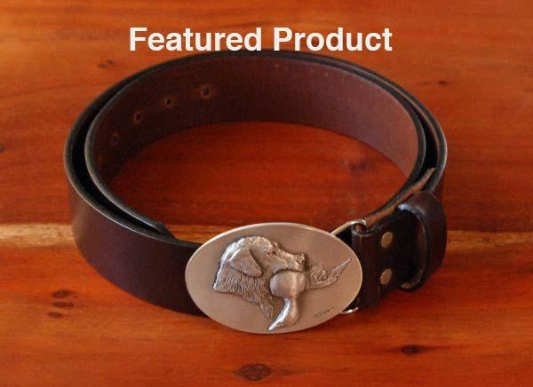 Lab With Duck Belt - DePaolis & Royden Leather Belts